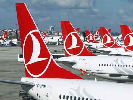 Turkish airlines aviones