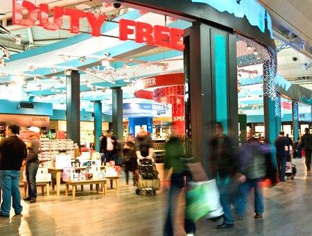 Aeropuerto tiendas duty free