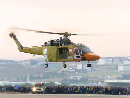 Ankara helicoptero turco t625
