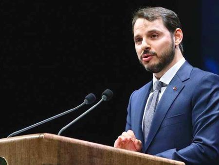 Berat albayrak ministro turco
