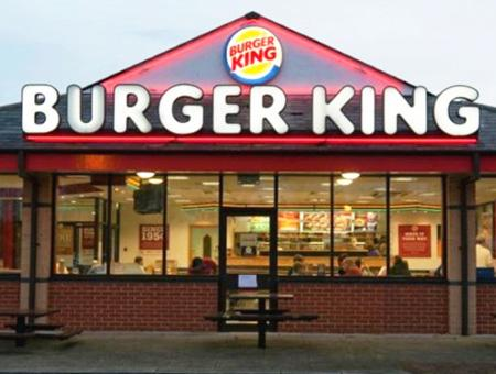 Burguer king comida rapida