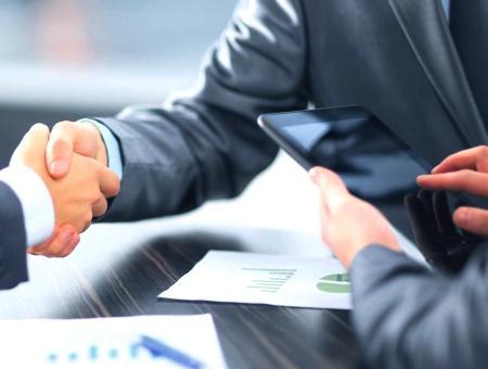 Empresas negocios acuerdo