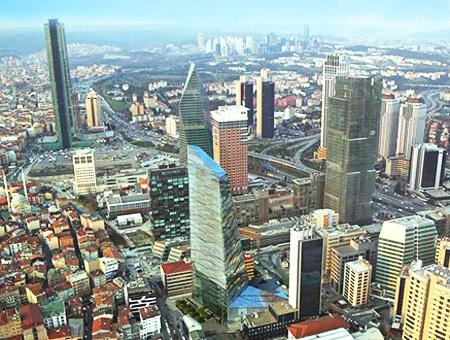Estambul levent rascacielos