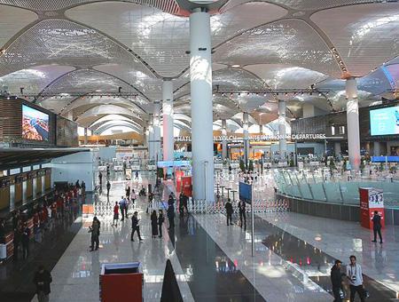Estambul nuevo aeropuerto terminal