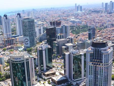 Estambul rascacielos edificios
