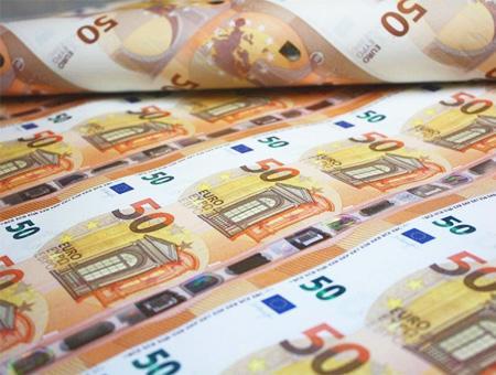 Euros billetes euro