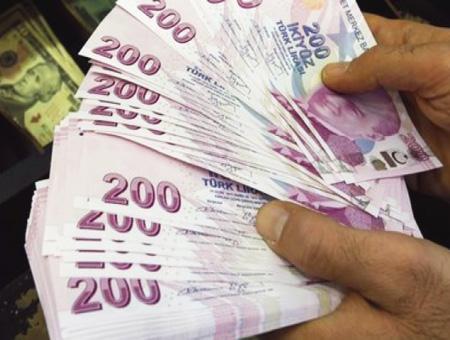 Lira turca billetes cambio