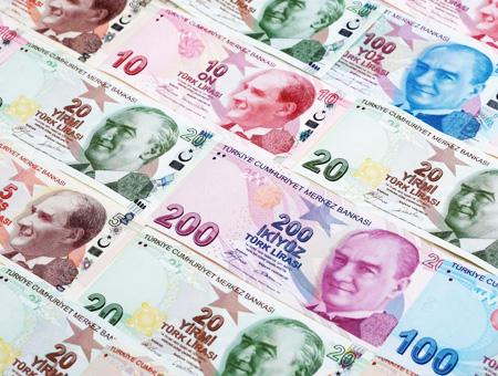 Lira turca billetes