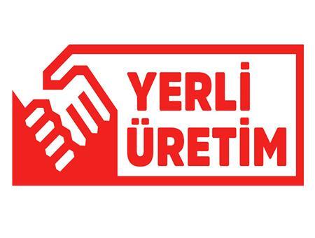 Logotipo madein turkey yerli uretim