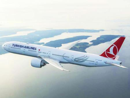 Turkish airlines avion vuelo