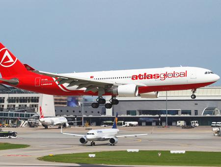 Aerolinea atlasglobal avion vuelos