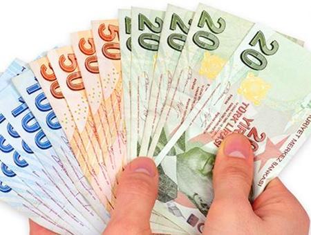 Dinero billetes liras turcas