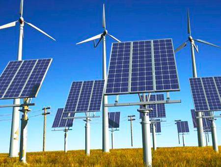 Energias renovables solar eolica