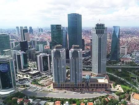 Estambul rascacielos levent