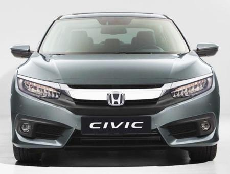 Honda civic coche sedan