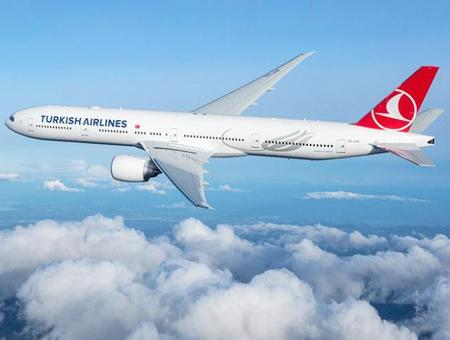 Turkish airlines aerolinea avion