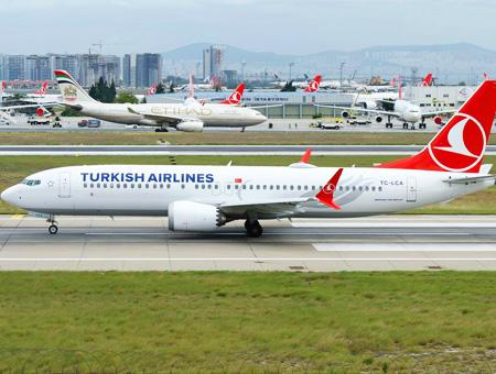 Turkish airlines avion boeing