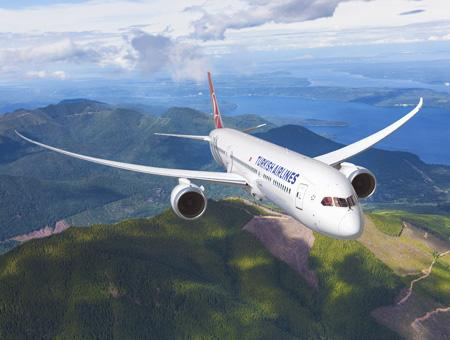 Turkish airlines avion boeing787