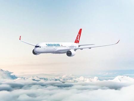 Turkish airlines avion vuelo