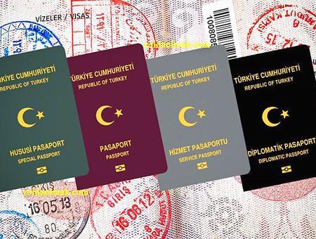 Turquia pasaportes turcos