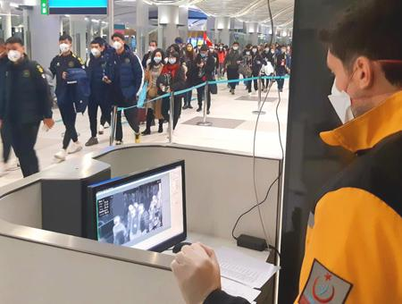Estambul aeropuerto controles coronavirus