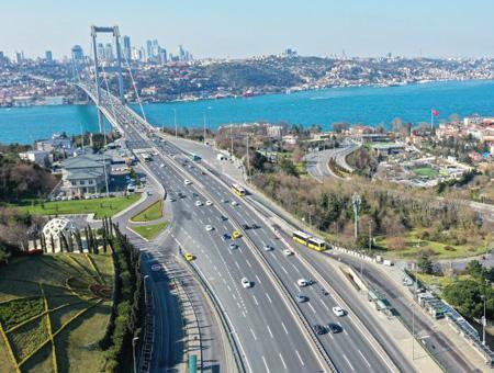 Estambul puente trafico