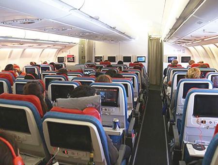 Turkish airlines avion pasajeros