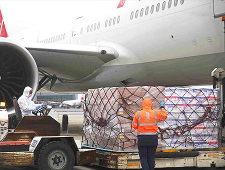 Turkish airlines transporte carga
