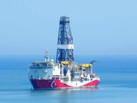 Turquia buque exploración gas fatih