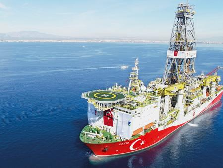 Turquia buque perforacion fatih