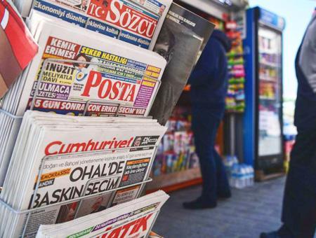 Turquia periodicos prensa escrita