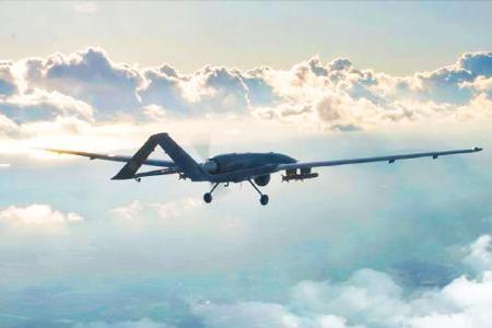Dron combate turco bayraktar