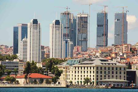 Estambul construccion rascacielos