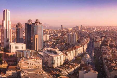 Estambul edificios ciudad