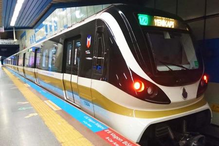 Estambul linea metro m2