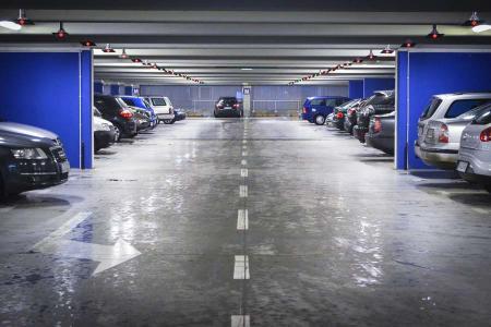 Parking aparcamiento vehiculos
