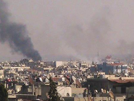 Homs siria bombardeos