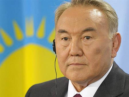 Nursultan nazarbayev kazajistan