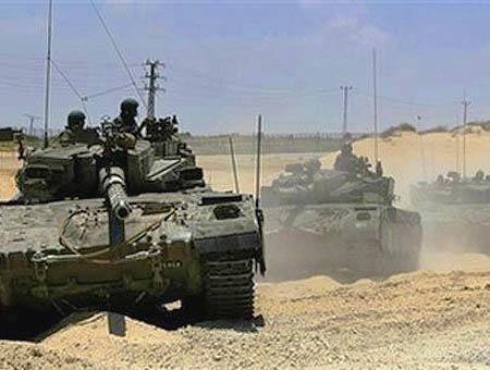 Tanques israel