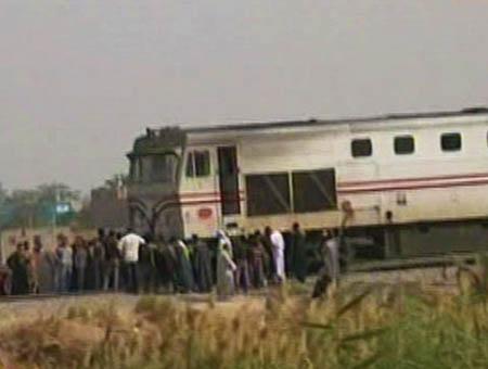 Accidente tren egipto