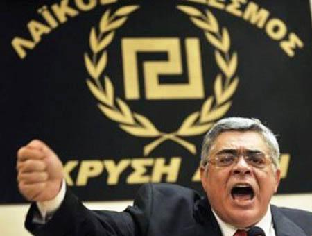 Amanecer dorado fascismo grecia