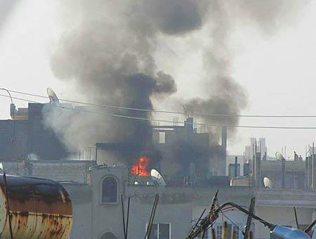 Bombardeos homs siria