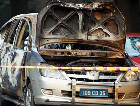 Coche bomba israel delhi
