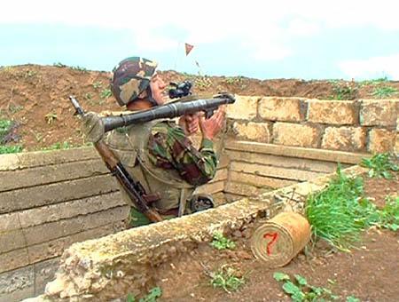 Frontera armenia azerbaiyan