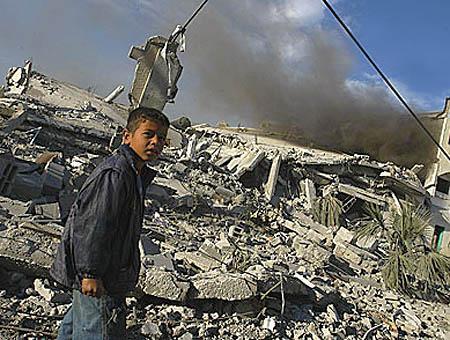 Gaza bombardeos(1)