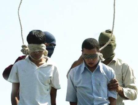 Iran horca pena muerte