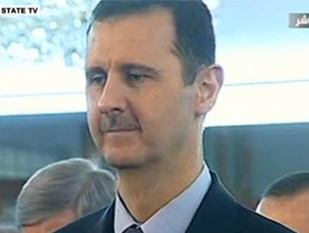 Assad television siria