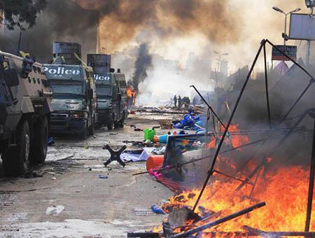 Egipto cairo disturbios