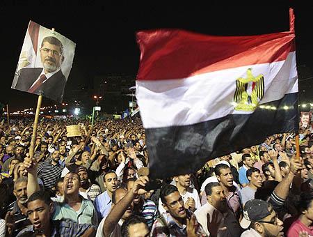 Egipto protesta partidarios morsi