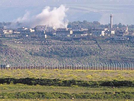 Golan israel siria disparos
